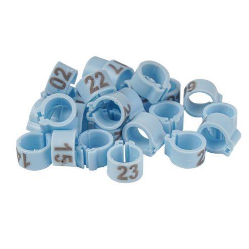 evcilpet.com - Civciv Bileziği 25'lik Paket Mavi