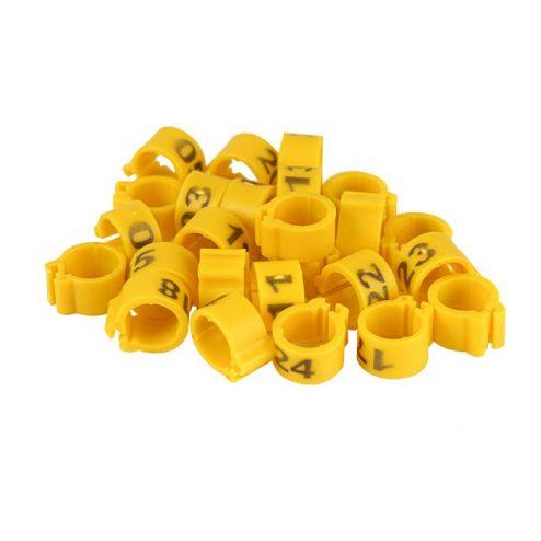 evcilpet.com - Civciv Bileziği 25'lik Paket Sarı
