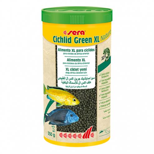 sera cichlid green XL nature 1000ml - 370gr - evcilpet.com